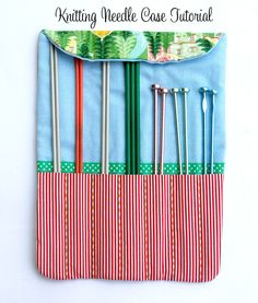 The Craft Imaginarium: Great tutorial on how to sew a wrap up case for your knitting needles, fabric sizes can be adapted to suit any size needles.  Free pattern.