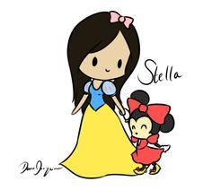 Stella Snow White by hyperfluffball.deviantart.com