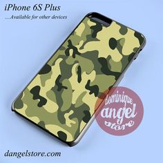 Green Camouflage Phone case for iPhone 6S Plus and another iPhone devices