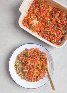 Roast Veg and Chickpea Stew