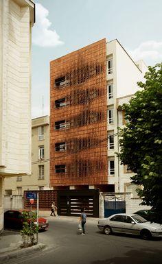*벽돌만으로 다이나믹한 생명을 불어넣은 테헤란의 건물-[ Admun Design & Construction Studio ] Cloaked in Bricks :: 5osA: [오사]