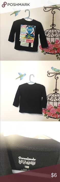 Boys Long sleeve T-shirt long sleeve black T-shirt for boys Shirts & Tops Tees - Long Sleeve