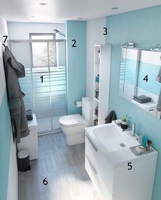 Merlin, Ideas Para, Toilet, Bathtub, Cabinet, Bathroom, Storage, Furniture, Home Decor