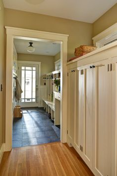 Storage and more storage, so beautifully done! (Parkinson Avenue East, Houzz)