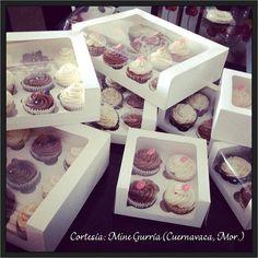 Cupcake Packaging, Dessert Packaging, Bakery Packaging, Food Packaging Design, Cupcakes Packaging Ideas, Box Packaging, Cupcake Gift, Cupcake Shops, Cupcake Boxes