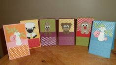 Punch Art Cute Critters by retiree - Cards and Paper Crafts at Splitcoaststampers