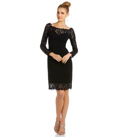 Shop for JS Collections Open Neck Scalloped Lace Sheath Dress at Dillards.com. Visit Dillards.com to find clothing, accessories, shoes, cosmetics & more. The Style of Your Life.