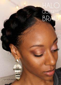 Halo Goddess Braid | Sugar Stilettos Style