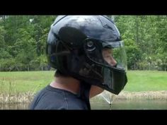 HCI 77 Full Face Motorcycle Helmet Carbon Fiber With Double Shield