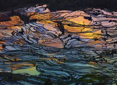 2014 National Geographic Traveler Photo Contest, Part II - In Focus - The AtlanticI captured this shot end of the day with this amazing color reflection in the water. Yuanyang Yunnan China. (© Thierry Bornier/National Geographic Traveler Photo Contest)