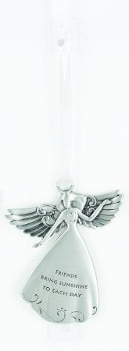 Angel Ornament - Friends Bring Sunshine to Each Day