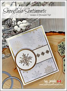 Snowflake Sentiments for Freshly Made Sketches -