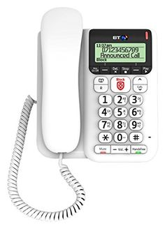 Teléfonos inalámbricos BT 7610 Teléfono Inalámbrico Lone Cable!!!