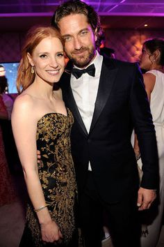 Gerry with Jessica Chastain