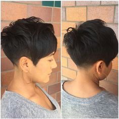 Image result for tapered pixie
