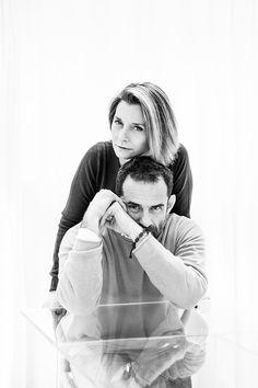 Ludovica + Roberto Palomba - by Antonio Campanella for Frame Magazine - (unpublished portrait)