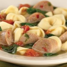 Sweet Italian Chicken Sausage and Tortellini Soup - Allrecipes.com