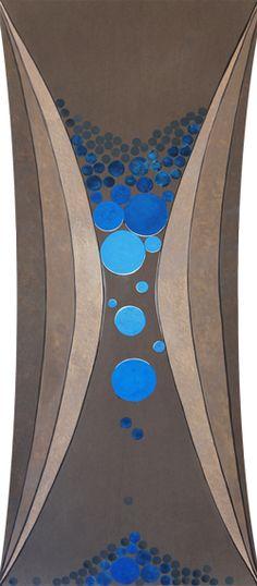 """""""Gargalo da Memória"""" (Neck of Memory)  Artista plástico Quim Alcantara  Acrílica sobre tecido (sarja / algodão)  200 cm X 85 cm, 2012  http://quim.com.br/gargalo-da-memoria-acrilica-sobre-tecido/"""