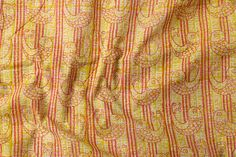 Rangotri Cotton Mul Kolkata Layered Print Handloom Fabric