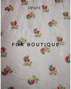 No photo description available. Loft, Saree, Embroidery, Boutique, Wallpaper, Fabric, Crafts, Instagram, Tejido