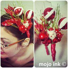 Tacky Christmas Headband by Mojo Ink.