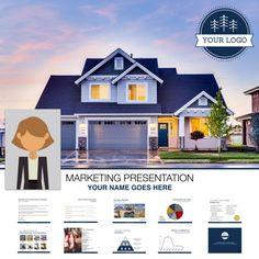 Branded Listing Presentation Template | Real Estate | Realtor | Instant Download | Prospecting | Lead Generation | Tips | Social Media