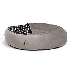 Mickey Mouse Cozy Cuddler Pet Bed - Gray - Medium | Disney…