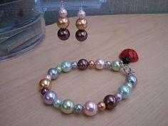 Multi pearl bracelet set