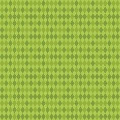 Bailey Harlequin in Green by Maude Ashbury by ScrappyGirlShoppe, $8.25