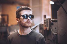 Wood eyeglass frames. Want one. Woodsun. Made in Russia.