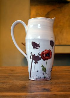 This handmade Justin Rothshank pitcher would be a fabulous wedding gift.