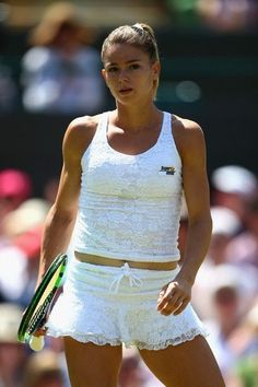 Hottest photos of tennis star Camila Giorgi in 2016 Camila Giorgi, Mode Tennis, Lawn Tennis, Sport Tennis, Wta Tennis, Female Volleyball Players, Tennis Players Female, Tennis Stars, Beauty