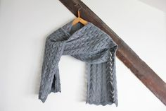 2,1m lace scarf