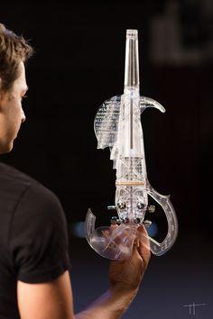 The 3Dvarius and its creator Laurent Bernadac - © Thomas Tetu
