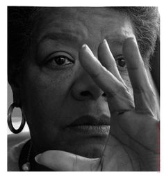 "Maya Angelou had such a strong influence on me as a young woman and I reread her books often.     ""The caged bird sings with a fearful trill   of things unknown but longed for still   and his tune is heard on the distant hill   for the caged bird sings of freedom."""
