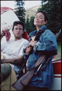 Still of Rob Morrow and Janine Turner in Northern Exposure (1990)
