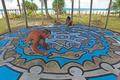 "Restoration of ""Restless"" Keith Haring - Brasil"