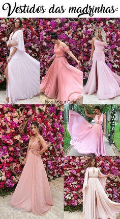 Veja os vestidos das madrinhas no CASAMENTO DA MARINA RUY BARBOSA Bridesmaid Dresses, Prom Dresses, Formal Dresses, Wedding Dresses, Princes Dress, Effortless Chic, Party Looks, Marie, Party Dress