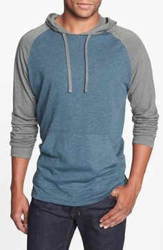 RVCA 'Castro' Hoodie T2, Nice heathered effect , and the subdued colors, it also has  a medium fabric weight making this a great choice!
