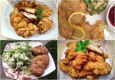 Szénhidrátcsökkentett rántott hús, vagy bundás hús Szafi Reform lángos lisztkeverékkel vagy Szafi Reform kenyér és péksütemény lisztkeverékkel (gluténmentes, tejmentes, szójamentes) – Éhezésmentes karcsúság Szafival Chicken, Meat, Ethnic Recipes, Food, Eten, Meals, Cubs, Kai, Diet