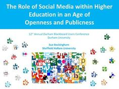 The role of social media in higher education in an age of openness and publicness
