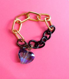 $16.00.  BLUE HEART BRACELET from my favorite vendor.  Perfect for Valentine's.  :)
