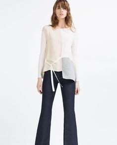 TOP WITH SIDE BAND-View all-WOMAN-NEW IN | ZARA United States