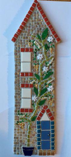 Regalo hecho a mano casa de mosaico nuevo por WoodfordMosaics