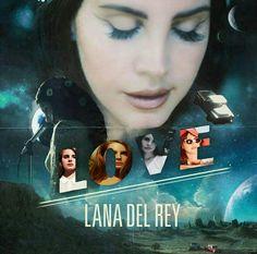 Lana Del Rey #LDR #Love #Lust_For_Life #eras