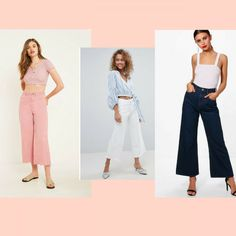 The denim taking Summer 18 by storm. Goodbye mom jeans 👋