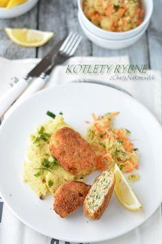Kotleciki rybne z mintaja. Kotlety rybne. Obiad piątkowy. Kotlety rybne z ziemniakami. Szybkie kotlety z mintaja.