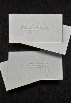 Personal id cards.  By Stella Petkova.  www.behance.net/stelfy