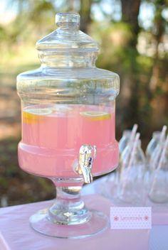 Pink Lemonade in my Party Drink Server