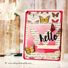 Perfect card created by Wanda Guess using the October 2015 card kit by Simon Says Stamp.